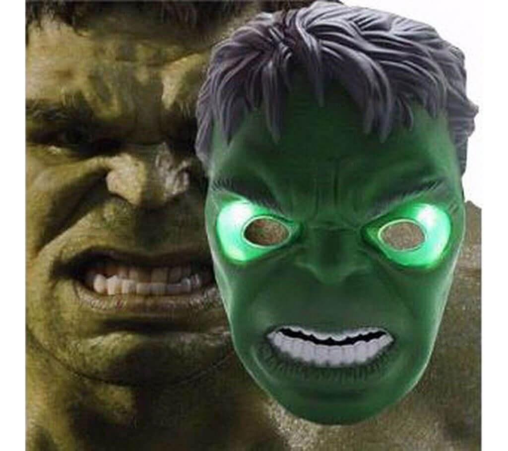 Hulk মাস্ক উইথ LED লাইট বাংলাদেশ - 400259
