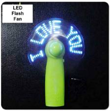 Flexible LED Flash Fan