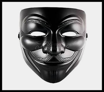 Anonymous Mask Black