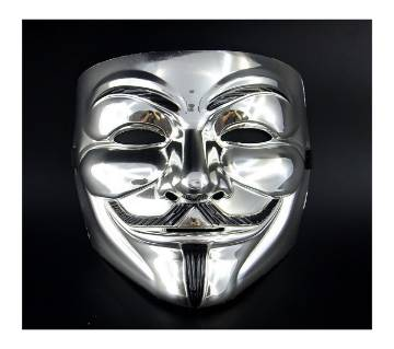 Anonymous Mask Silver
