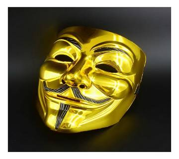 Anonymous Mask Golden