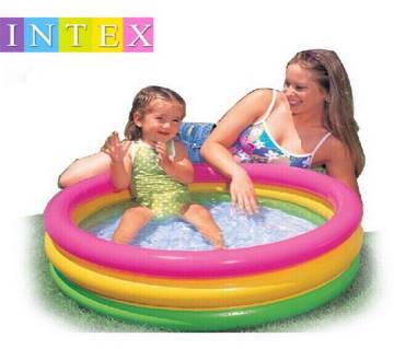 Intex 3 Ring Pool Model Multi Color