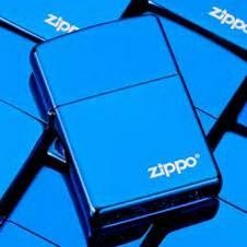 Zippo Lighter Blue