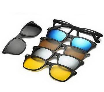 6 in 1 Magic Vision magnet sunglasses
