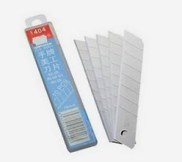 ANTI CUTTER BLADE Small 18mm 10pis