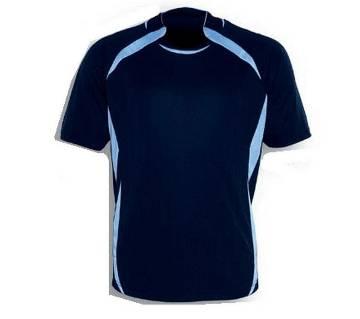 navy blue half sleeve jersey for men