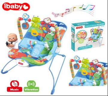 iBaby Rocker Bouncer Music Baby Chair Cartoon