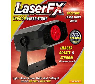 LASER FX Indoor Light with Built-in Speaker