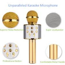 Karaoke Wireless Portable Bluetooth Microphone