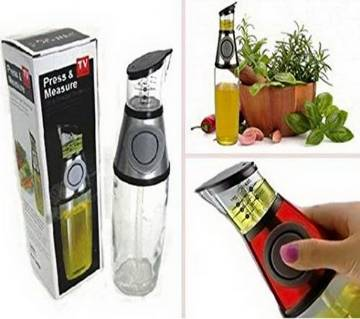 Press & Measure Oil and Vinegar Dispenser