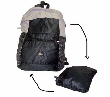 Folding Travel Backpack (Black)