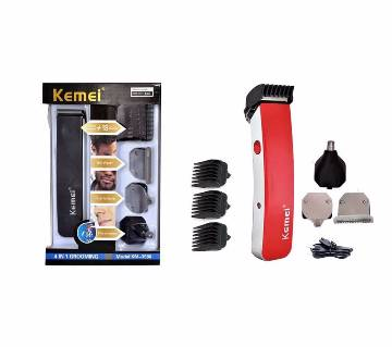 KEMEI 4 IN 1 rechargeable grooming trimmer