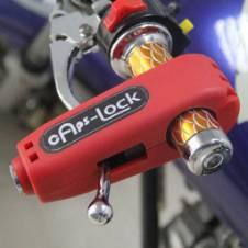Caps-Lock Motorcycle Handlebar