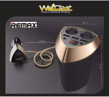 Remax cr-3xp LED কার চার্জার