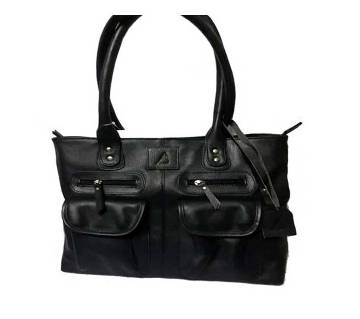 Two Pocket Long Ladies Handbag