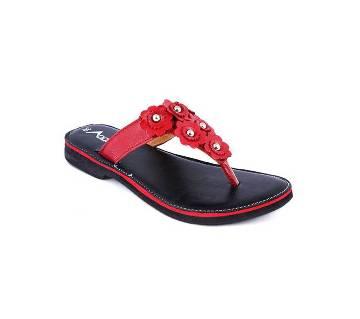 A027 Leather Ladies Sandal