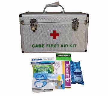 First Aid Box (PVC body) with First Aid