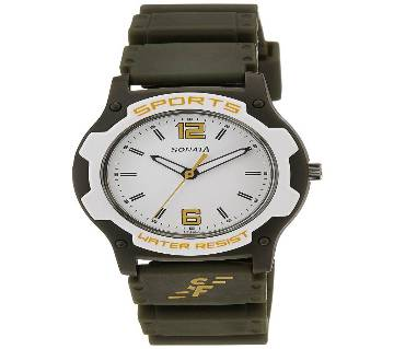 Sonata Analog White Dial Men