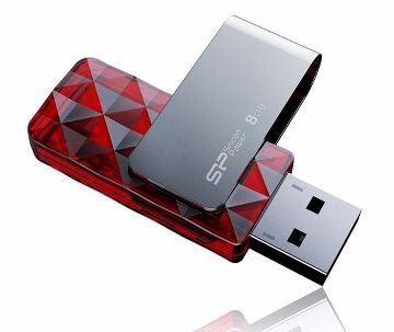 Silicon Power 8GB Ultima U30 USB 2.0 Swi