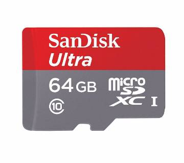 SanDisk Ultra MicroSDHC মেমরি কার্ড (64GB)