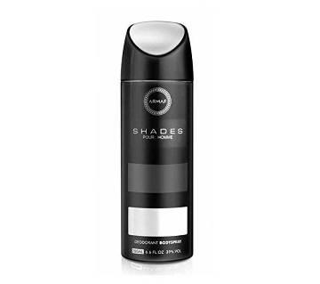 Armaf Shade Deodorant Body Spray For Men - 200ml - UAE