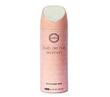 Club De Nuit Body Spray For Women - 200 ml
