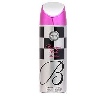 Armaf Baroque Pink Deodorant Body Spray For Women 200ml - UAE