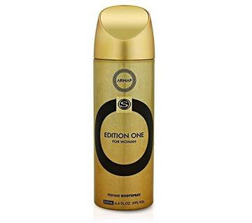 Armaf Edition One Deodorant Body Spray For Women 200ml - UAE
