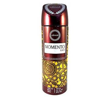 Armaf Momento Lace Deodorant Body Spray For Women 200ml - UAE