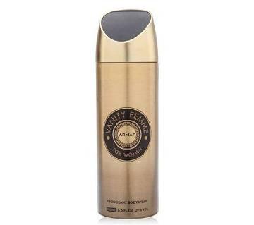 Armaf Vanity Femme Body Spray for Women 200ml - UAE