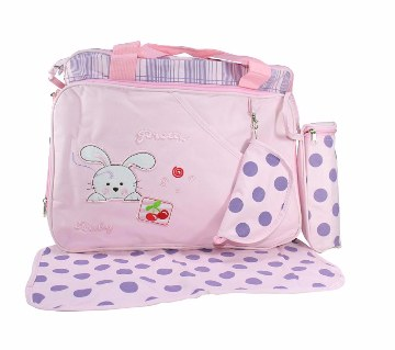 Baby Star Mothers 4 Pieces Bag (Light Pink)
