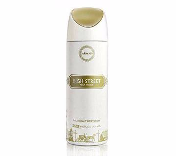Armaf HIGH STREET Deodorant Body Spray For Men