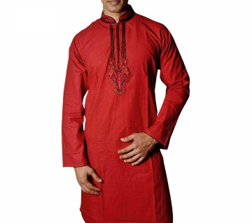 Contrast Design Cotton Punjabi