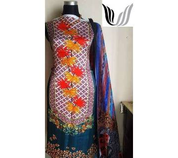 Samu silk unstitched salwar kameez 2pcs code 1121212