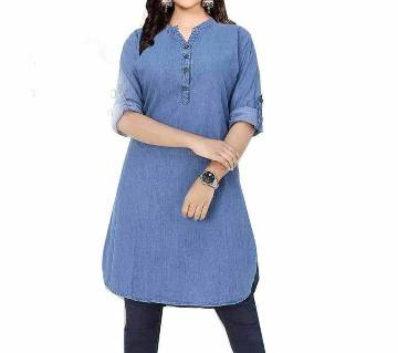 Denim kurti for Women
