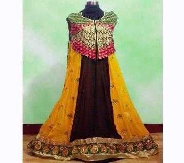 UnStitched India Jorjet Long Party Suit