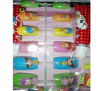 Artificial nails for girl - 12 Piece China