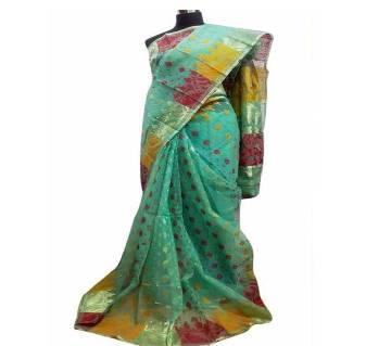 Pure Muslin Silk Sharee