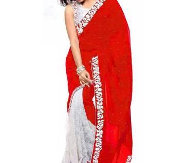 Indian Soft weightless georgettet Saree