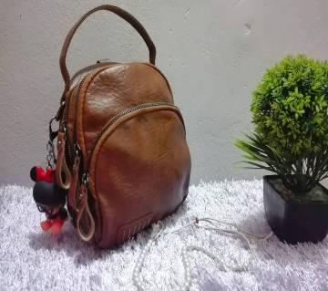 PU লেদার ব্যাকপ্যাক
