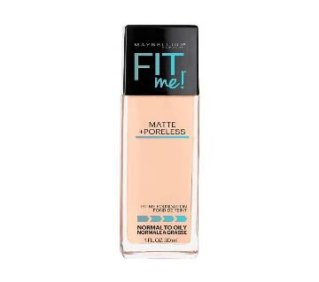 Maybelline Fit Me Foundation 30ml USA