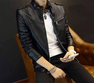 Mens Full Artificial Leather Jacket