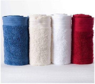 4 Piece Assorted Color Hand Towel