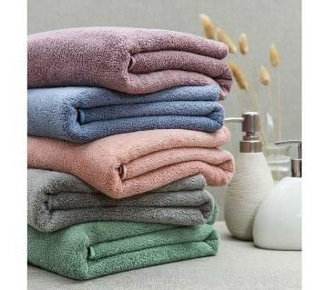 4 Piece Assorted Color Bath Towel
