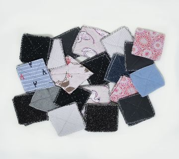 50 Piece Cotton Made Pot Holder or Lusni