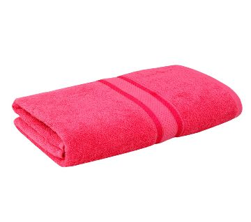 1pc Premium Quality 100% Pure Cotton Bath Towel
