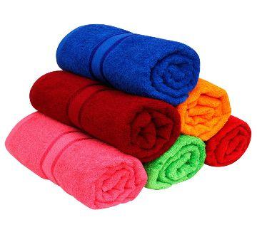 6pcs Premium Quality 100% Pure Cotton Large Size (27x54inchs) Bath Towel