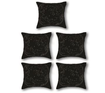 Five Pieces Cushion & Cover Set 20x20 inch