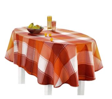 Decorative Table Cloth Oval Shape Table Mat
