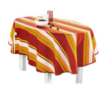Decorative Table Cloth Oval Shape Table Mat